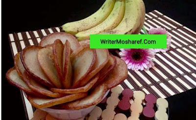 Ripe banana cake recipes of oil - পাকা কলার তেলের পিঠা রেসিপি।