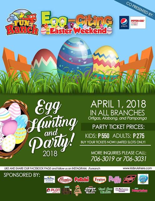 Fun Ranch Easter 2018