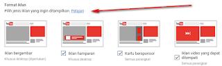 Empat jenis iklan Youtube | Bocahweb