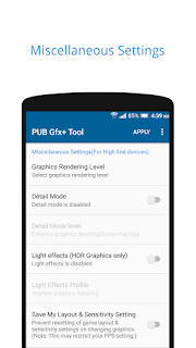 PUBG GFX+ Tool🔧 (With Advanced Settings) v0.13.4P Pro APK Is Here !