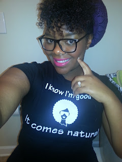 Natural hair tees