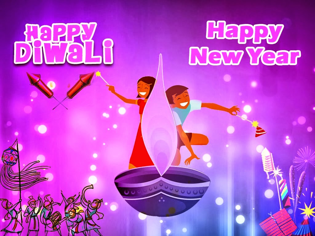 Happy Diwali And New Year Wallpapers: Happy Diwali And Joyous New Year Wishes Images