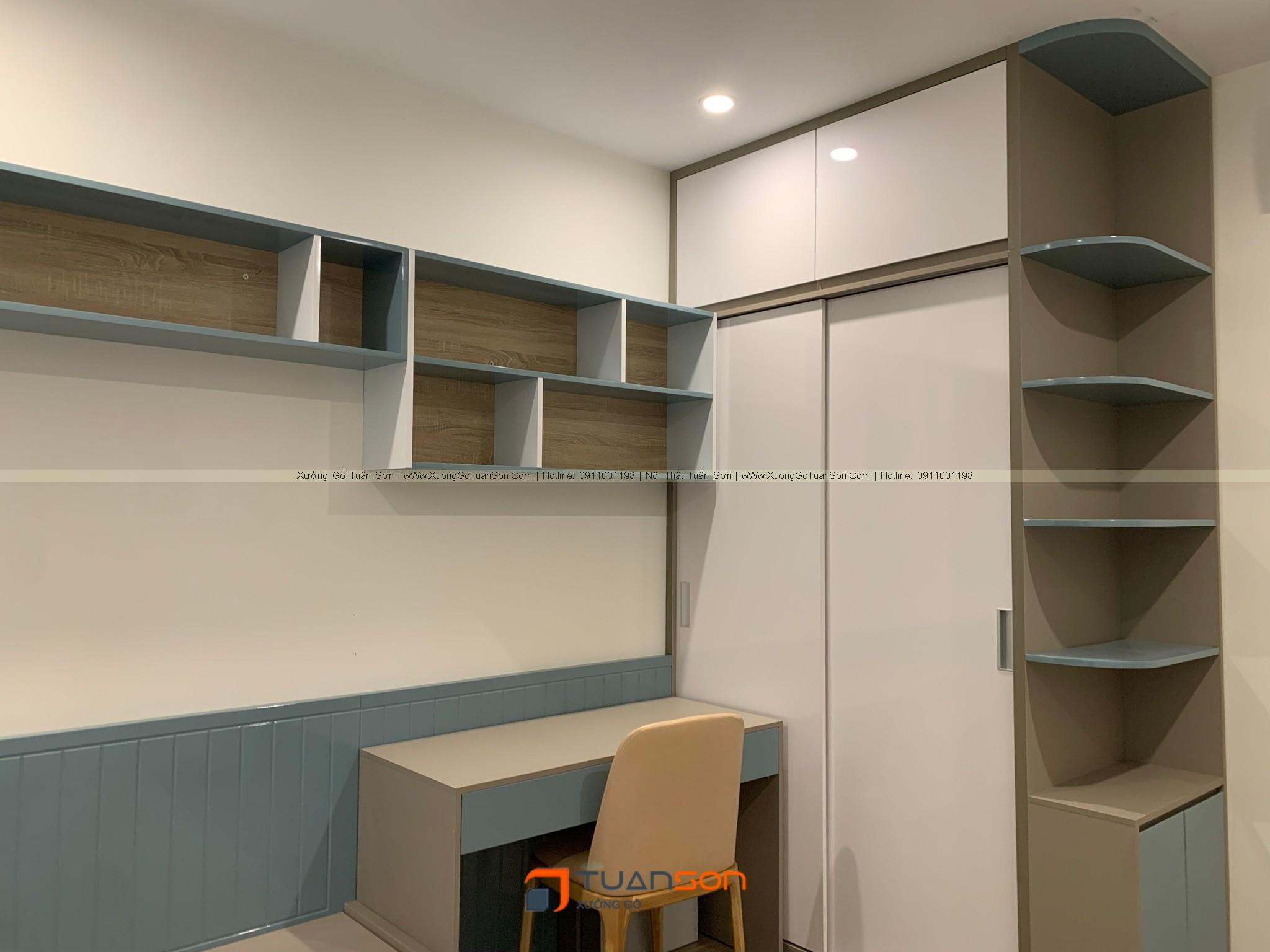 Bàn giao nội thất căn hộ 3 phòng ngủ S1.05-16 Vinhomes Ocean Park