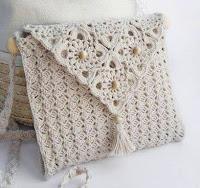 DIY Moda Feminina - Bolsa de Crochê Com Gráficos