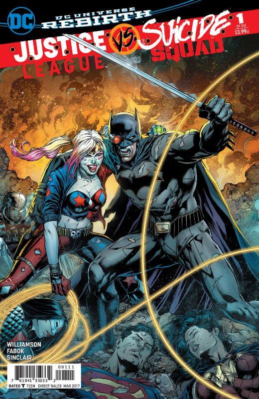 Justice League Vs Suicide Squad #1 Gets A Second Print