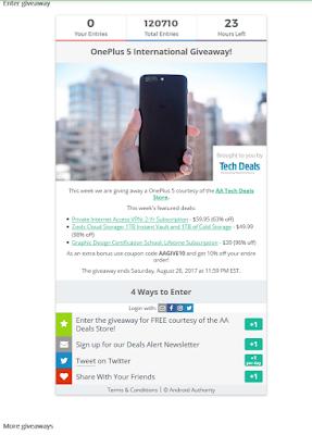 Cara Mudah dan Gratis Mendapatkan HP OnePlus 5