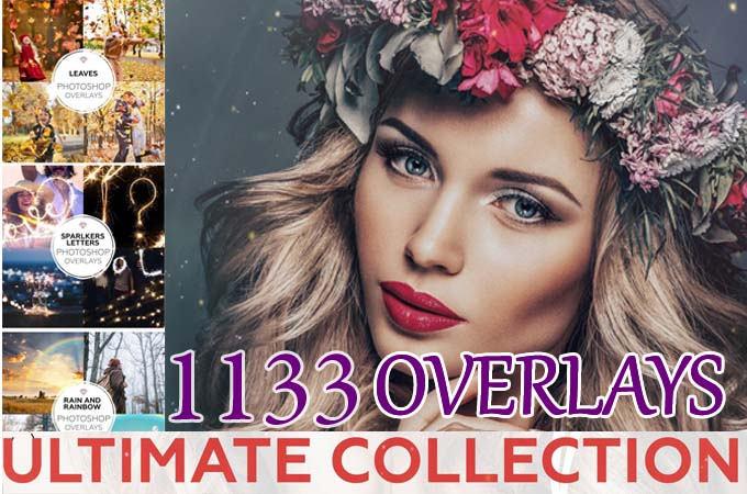 1130 + Ultimate Photography Overlays Effects Bundle