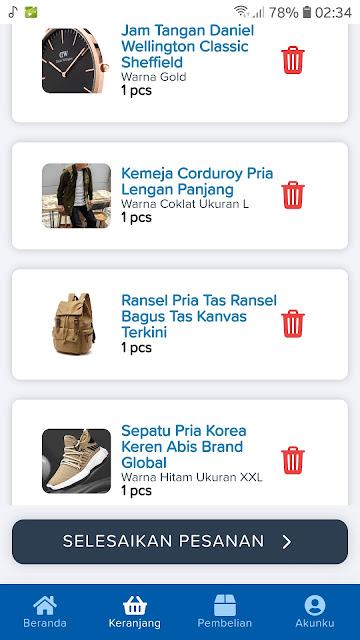 Source Code APK Android Toko Online Siap Pakai 3