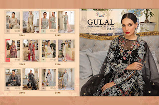 Shree Fab gulal Embroidered Collection vol 2 Pakistani Suits