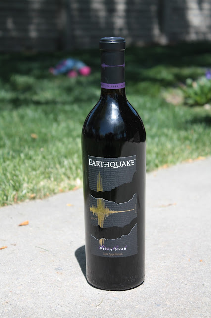 Drunk on Seismology - Earthquake Petite Sirah