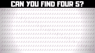 Can you find the hidden number 5 in this fun brain teaser game picture?