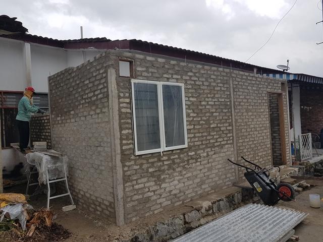 renovate rumah luaskan dapur
