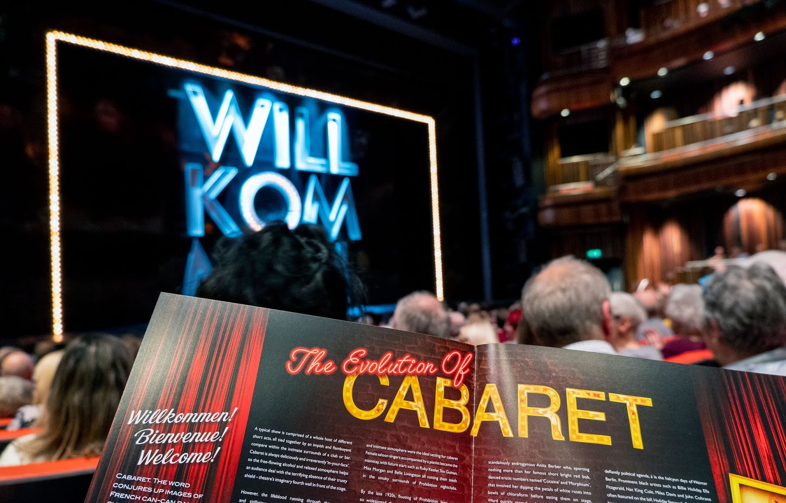 Cabaret at The Marlowe Theatre, Canterbury