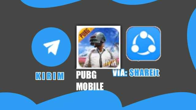 cara kirim pubg mobile lewat shareit