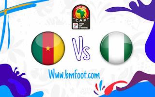 ماتش الكاميرون و نيجيريا بث حي ومباشر
