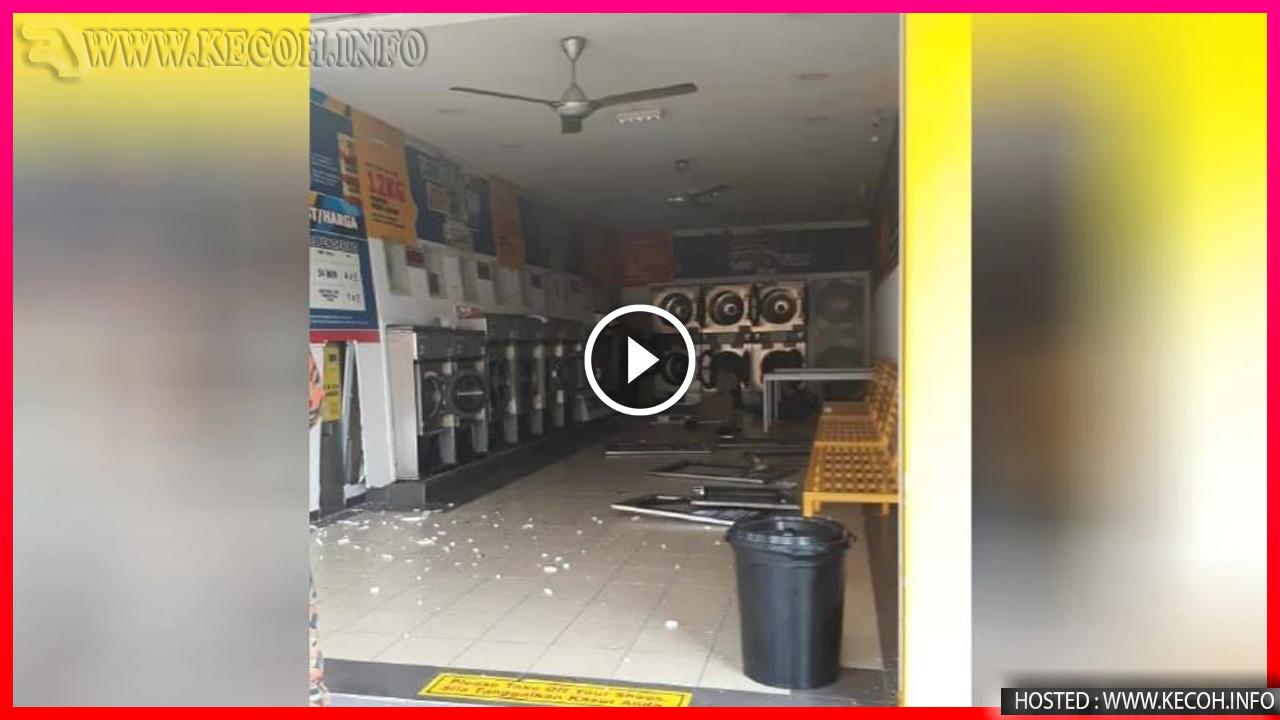 Video Kedai Dobi Meletop Di Klang Tersebar Dan Jadi Viral