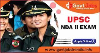 UPSC NDA II Exam 2021