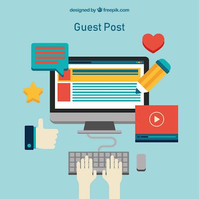 menumbuhkan blog dengan menjadi guest post