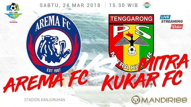 Prediksi Arema FC Vs Mitra Kukar, Sabtu 24 Maret 2018 Pukul 15.30 WIB @ Indosiar