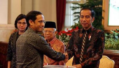 Presiden Jokowi Dukung Mendikbud Nadiem Makarim Hapus Ujian Nasional