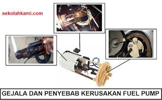 gejala dan penyebab kerusakan fuel pump