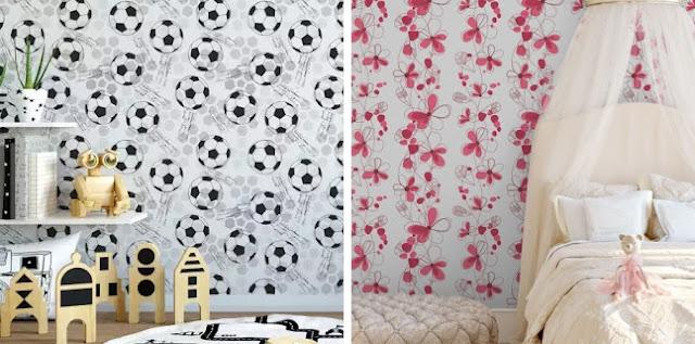 bem colar-papel-parede-adesivo-bebe-infantil-decoracao-criativa-menino-menina-futebol-flores-rosa-baby-carolbeautysecrets