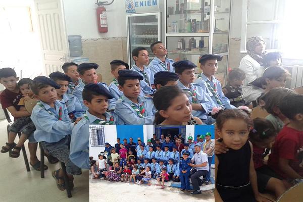 أمن دائرة الكريمية ينظم أبواب مفتوحة ويحي اليوم الوطني للطفل الجزائري