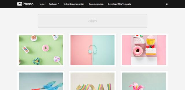 تحميل قالب بلوجرPhorto  للتصوير و الفوتوغراف