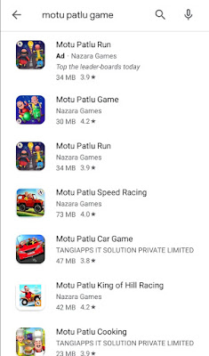 [BEST Game] For Motu Patlu  car game