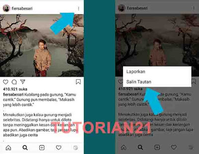 Cara copy caption Instagram IG