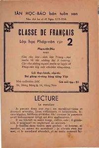 Lớp Học Pháp Văn Tập 2 - Phạm Tất Đắc