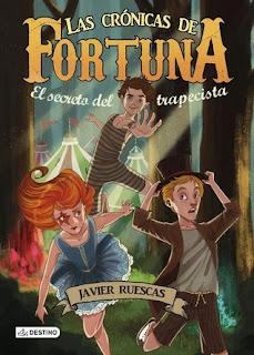 Reseña Palabras en Cadena del libro juvenil Las crónicas de la fortuna de Javier Ruescas