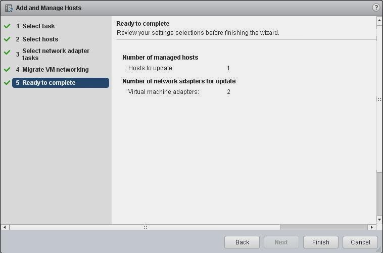 vSphere Distributed Switch Part 9 - Migrate Virtual Machine