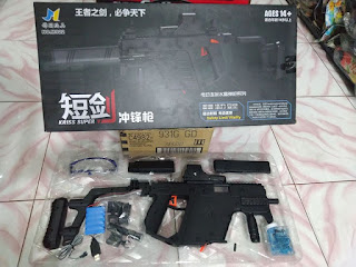 Review Gel Blaster Kriss Vector (Water Gel Gun)