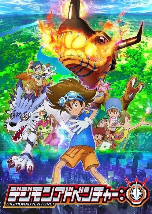 reboot de Digimon Adventure