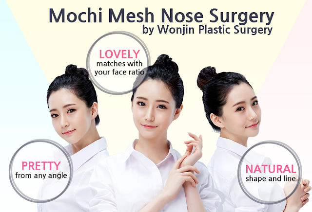 Newest Trend of 2017: Mochi Mesh Nose Surgery Wonjin Plastic Surgery