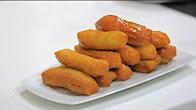 طريقة عمل حلويات مقلية بعصير البرتقال مع نجلاء الشرشابي في علي قد الأيد
