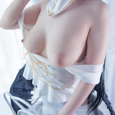 MauLon.Net - Hình sex cosplay Albedo – Overlord