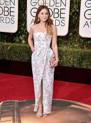 Melissa%2BBenoist - Globos de Ouros/ Golden Globes 2016