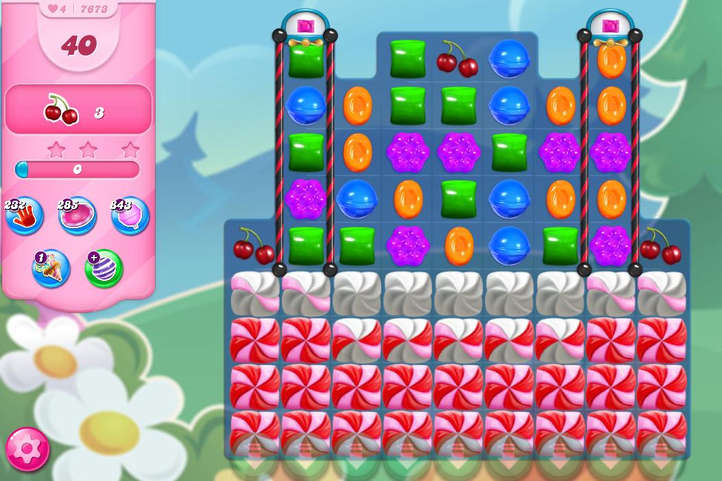 Candy Crush Saga level 7673