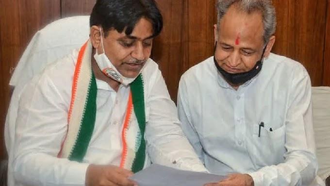 राजस्थान में कांग्रेस अपने रिश्तेदारों को दे रही है पहले नौकरी पढ़े रिपोर्ट RAS Exam पर हुआ विवाद