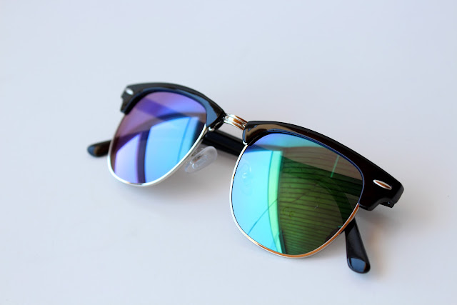 Cubus mirrored sunglasses, cheap mirrored sunnies
