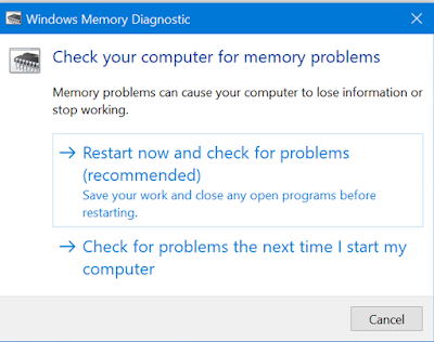 How to use Windows Memory Diagnostic Utility