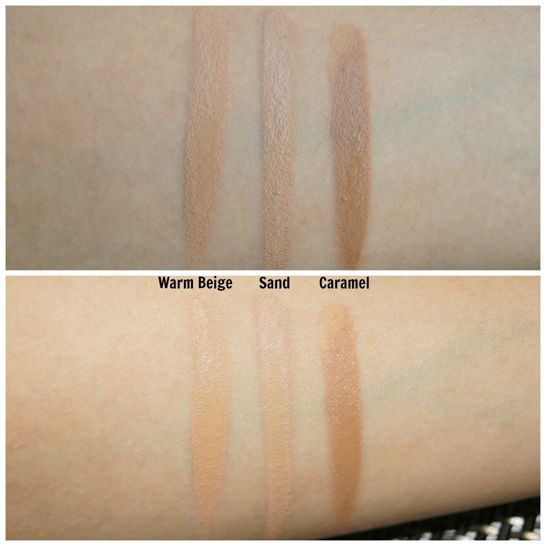 too faced concealer swatches