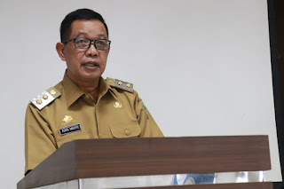 Wakil Bupati Barru Buka Bimtek Penyusunan Peta Proses Bisnis Dan Standar Operasional Prosedur Pemkab Barru