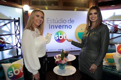 Débora de Oliveira e Mônica Fonseca (Divulgação/SBT)