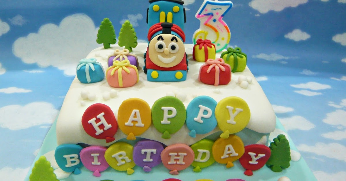 Jenn Cupcakes Amp Muffins Thomas The Train Cake
