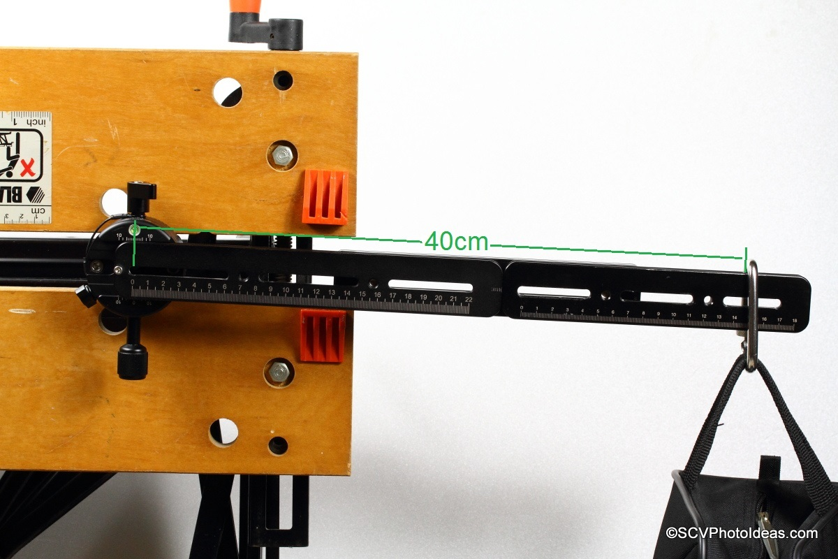 Sunwayfoto DDP-64SX with long rail and counter weight