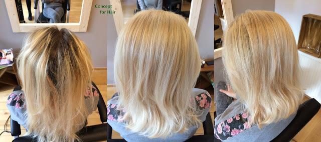 odcień blondu ładny