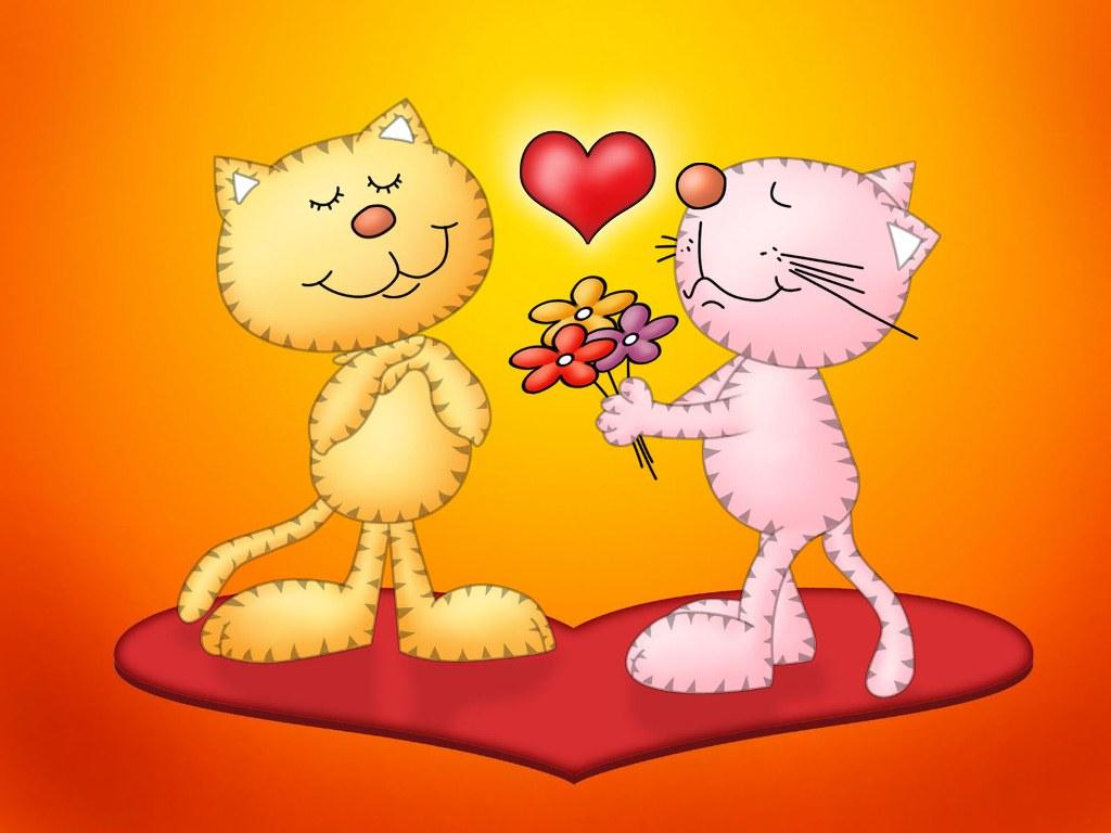 Free desktop wallpapers backgrounds cute cartoon - Cartoon valentine wallpaper ...